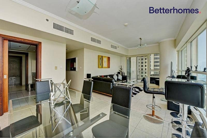 11 Fully Furnished | Partial Marina View | High Floor