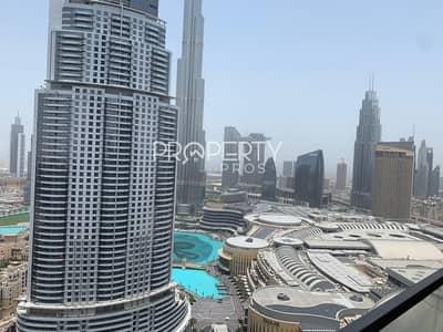 فلیٹ 3 غرف نوم للبيع في وسط مدينة دبي، دبي - 04 Unit | High Floor  | Burj View