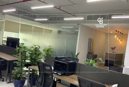 مکتب  للبيع في الروضة، دبي - Fully Fitted Office for sale in Onyx| Best Fit Out