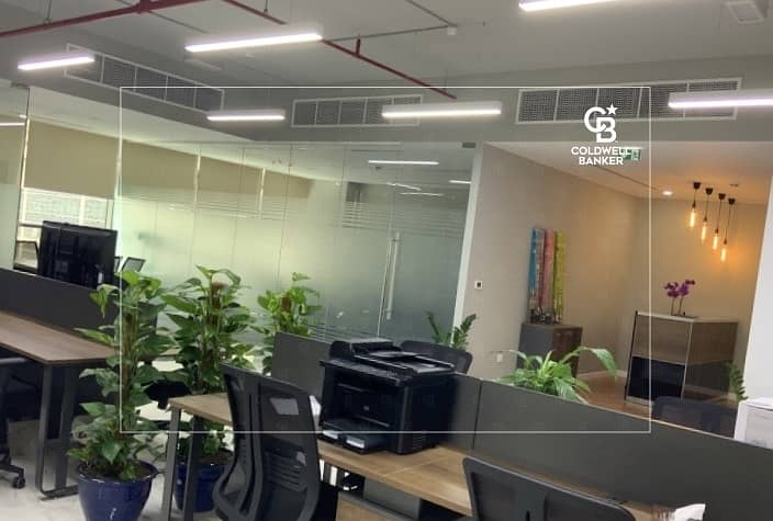 Fully Fitted Office for sale in Onyx| Best Fit Out