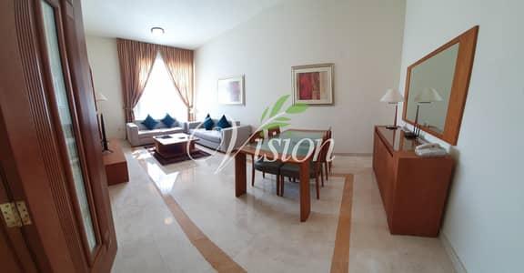 فلیٹ 2 غرفة نوم للايجار في شارع النجدة، أبوظبي - Amazing 2 BR Fully Furnished Apartment