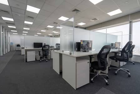 Office for Rent in Sheikh Zayed Road, Dubai - Furnished Office Space on Sheikh Zayed Road at Conrad