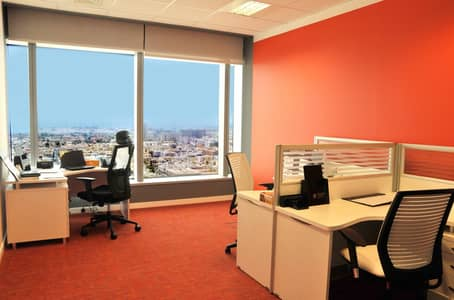 Office for Rent in Sheikh Zayed Road, Dubai - Fully Serviced Office Space with Ejari