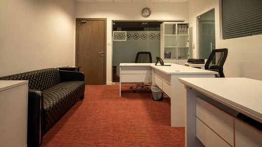 Office for Rent in Sheikh Zayed Road, Dubai - Shared Office Space with Ejari
