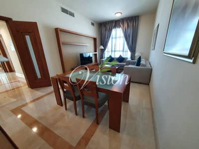 فلیٹ 2 غرفة نوم للايجار في شارع النجدة، أبوظبي - Amazing Fully Furnished 2BHK with maids room and parking