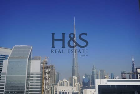 1 Bedroom Apartment for Rent in Business Bay, Dubai - Serviced Apt I Full Burj Khalifa View I Prive by Damac