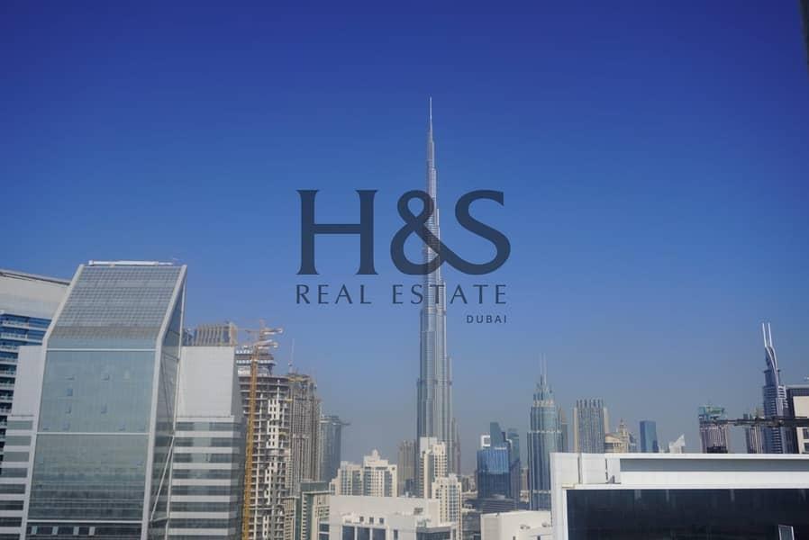 Serviced Apt I Full Burj Khalifa View I Prive by Damac
