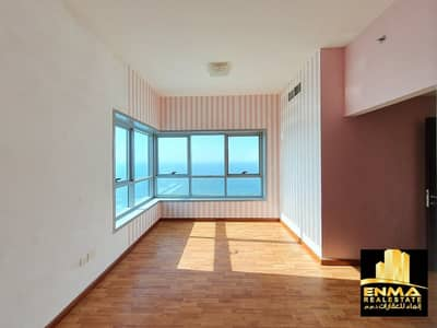 2 Bedroom Apartment for Rent in Corniche Ajman, Ajman - LUXURY 2BHK LIKE BRAND NEW IN CORNICHE TOWER FULL SEA VIEW