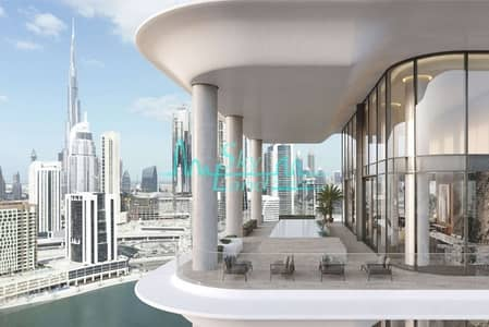 5 Bedroom Penthouse for Sale in Business Bay, Dubai - Dorchester Residence | Burj Khalifa District | 5-BR Penthouse with Private Pool