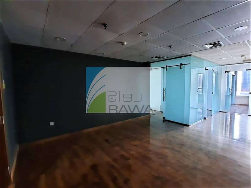 FITTED and GLASS PARTITIONED OFFICE IN ONTARIO TOWER