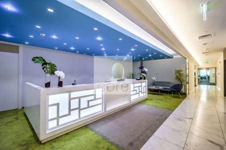 طابق تجاري  للايجار في وسط مدينة دبي، دبي - Fully Fitted Unit | Low Floor | Amazing Views