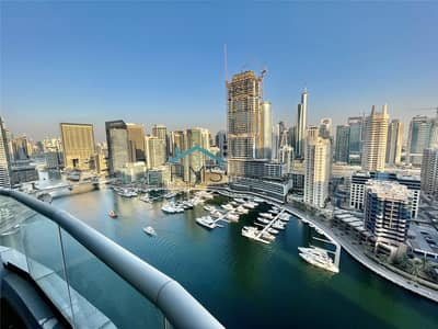 2 Bedroom Flat for Sale in Dubai Marina, Dubai - Vacant | Amazing Marina View | High Floor |