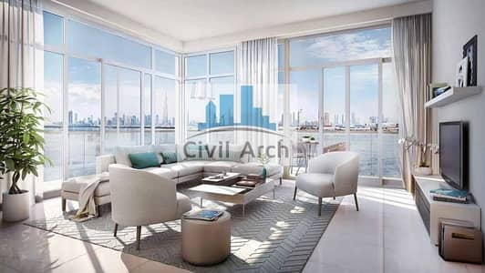4 Bedroom Apartment for Sale in The Lagoons, Dubai - Last 4br 10% to book+3 years Pay+50% DLD LARGEST 4BR FULL CREEK