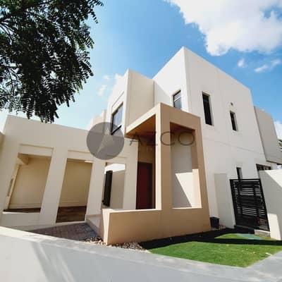 تاون هاوس 4 غرف نوم للبيع في تاون سكوير، دبي - Vacant | 4 Br | Huge Plot | Single Row