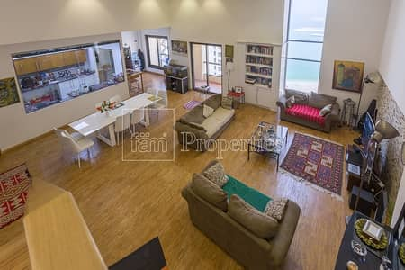 2 Bedroom Apartment for Sale in Jumeirah Beach Residence (JBR), Dubai - Amazing Sea View VOT 2BR+Maids Great Loft