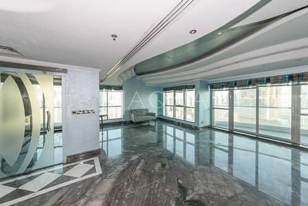 3 Bedroom Penthouse for Rent in Dubai Marina, Dubai - Full Marina view | High Floor | Unfurnished