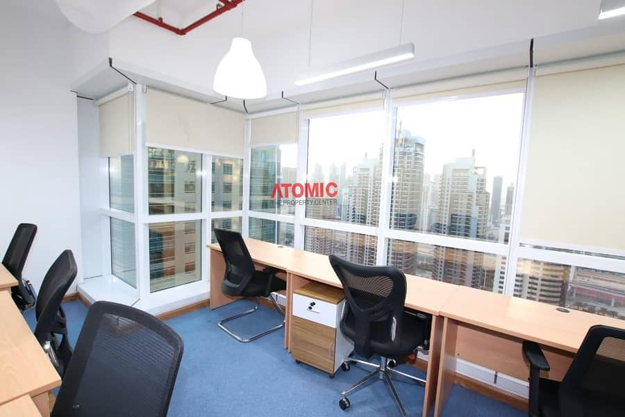 11 Fitted office | Sheikh Zayed View | JBC2