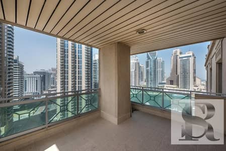 بنتهاوس 4 غرف نوم للبيع في دبي مارينا، دبي - Partial Marina View | Half Floor Penthouse  | Fully Maintained