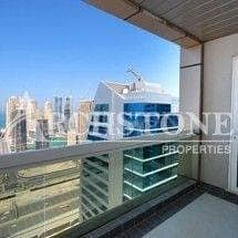 Biggest 2 BR with Study Apt in Saba Tower with Shz road view