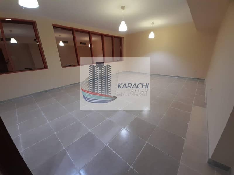 2 Bedroom Apartment With Huge Living Room In Hamdan Street