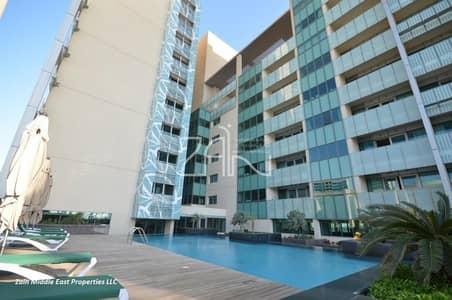 فلیٹ 3 غرف نوم للايجار في شاطئ الراحة، أبوظبي - High Floor 3+M Closed Kitchen with Beach Access