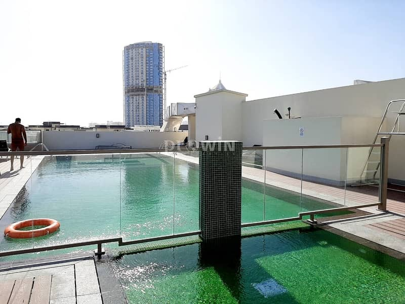 20 Large Studio Apartment with Miracle Garden View | Dewa building  | Last Unit !!!