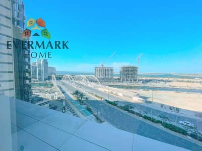 1 Bedroom Flat for Rent in Al Raha Beach, Abu Dhabi - Sea View  One Bed room Apartment Along big Balcony