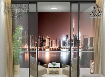 2 Bedroom Flat for Sale in Business Bay, Dubai - Apartment for sale with Khalifa Tower view and the water canal in installments
