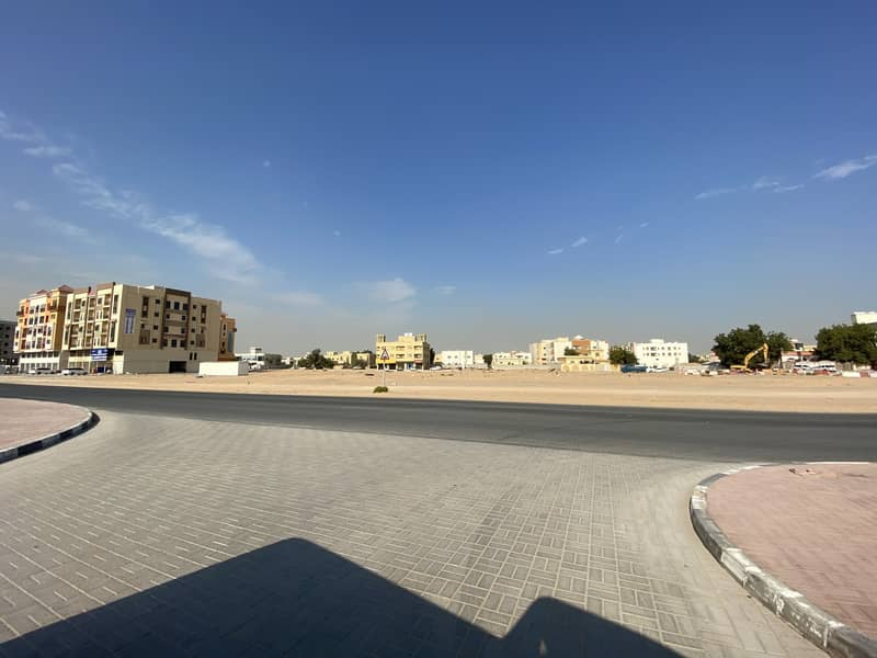 For sale a very good commercial plot G+4 best location in almowaihat second plot from acadmy road