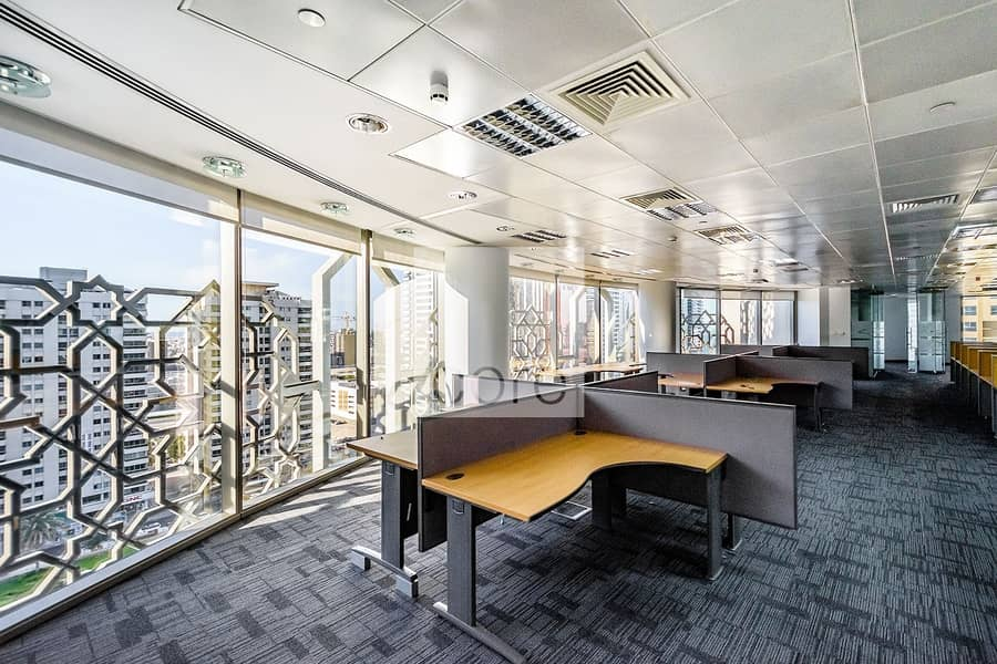 Fully Fitted Office | Close to Metro | DED