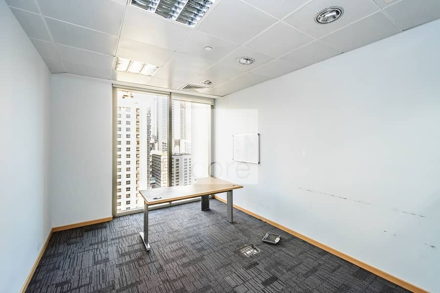 10 Fully Fitted Office | Close to Metro | DED