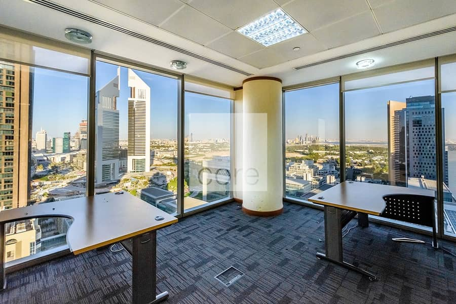 High Floor   Fully Fitted Office   DED