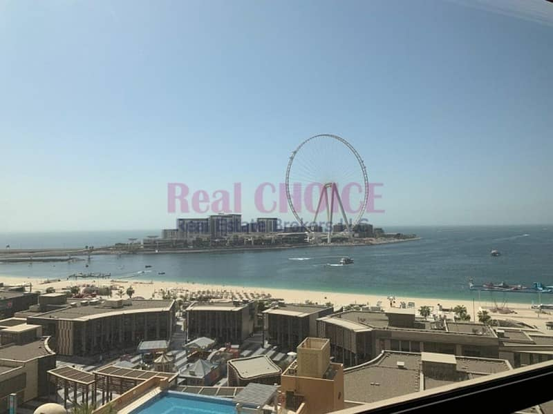 2 Rarely Available | Panoramic Sea View | Upgraded |  JBR