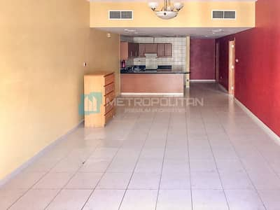 Large 1BR apartment for Yearly rent at Tuscan JVC
