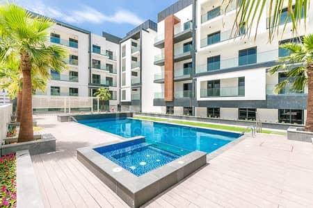 فلیٹ 1 غرفة نوم للايجار في قرية جميرا الدائرية، دبي - Exclusive top floor 1bed | best location