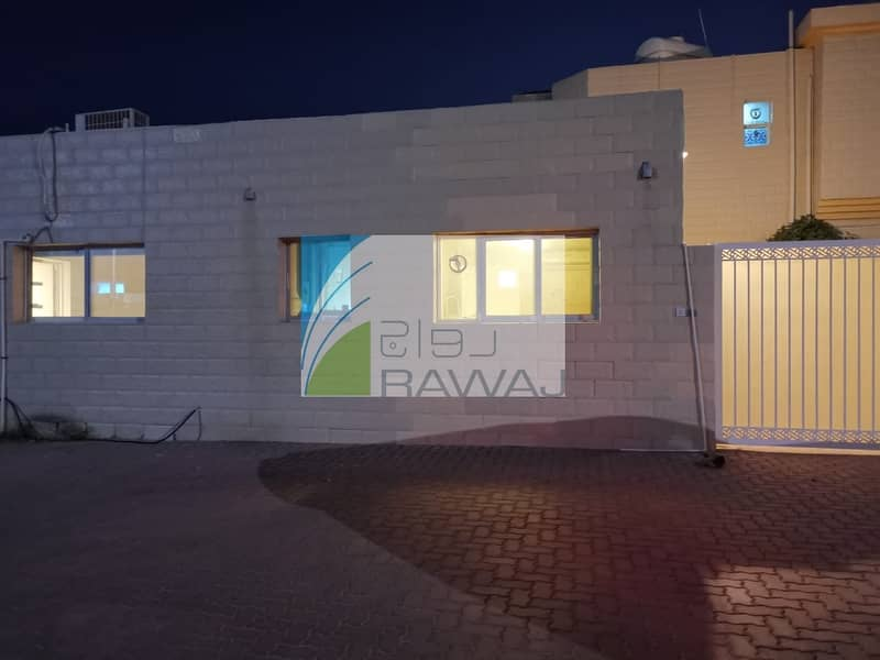 48 Well maintained 2 Bedroom villa for rent in Al Manara   AC FREE