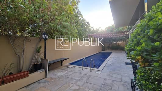 فیلا 4 غرف نوم للايجار في حدائق الراحة، أبوظبي - Remarkable 4 BR Villa with Private Pool and Garden