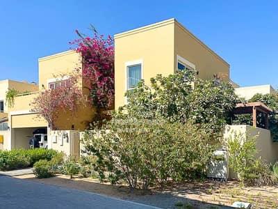 4 Bedroom Villa for Sale in Al Raha Gardens, Abu Dhabi - Exquisite Corner Villa with Private Garden!