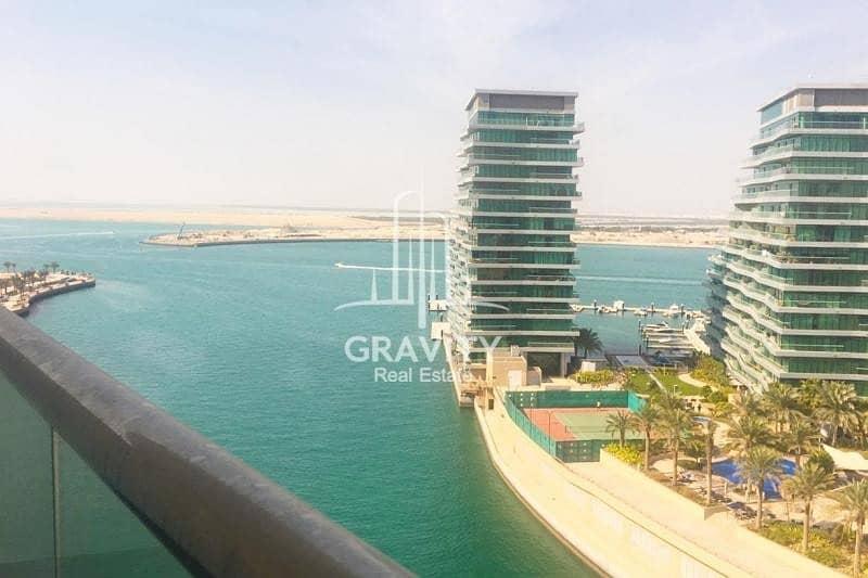 10 Full Sea View 3BR+Maid's Room in Al Raha Beach
