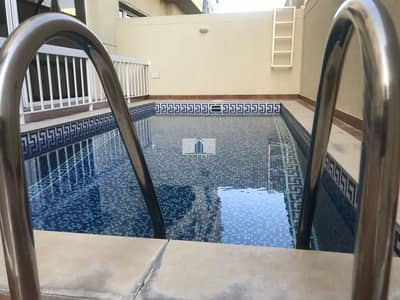 5 Bedroom Villa for Rent in Jumeirah, Dubai - 13 months | Temp Controlled Pool | Behind JBS | Compound Villa |