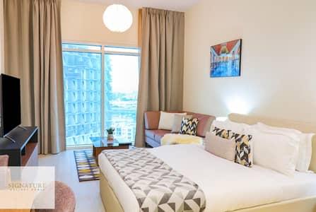 Studio for Rent in Al Jaddaf, Dubai - Spacious Furnished Studio Apartment in Azizi Aliyah