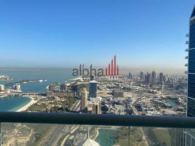 5 Bedroom Penthouse for Rent in Dubai Marina, Dubai - Penthouse with full sea view | Great Deal | Multiple cheques