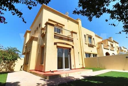 فیلا 3 غرف نوم للايجار في الينابيع، دبي - 3BR + Study Well Maintained Singal Row