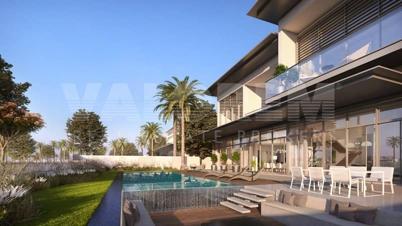 GOLF VIEW CORNER VILLA   DUBAI HILLS   HANDOVER 2021