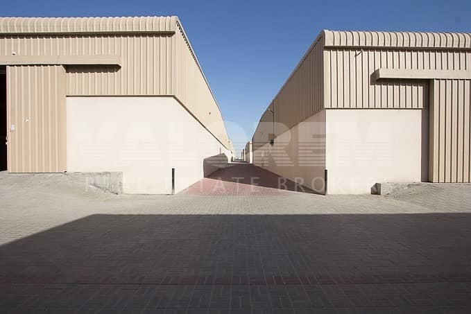 27 Excellent warehouse for rent in Al-Sajah Ind. Area Sharjah