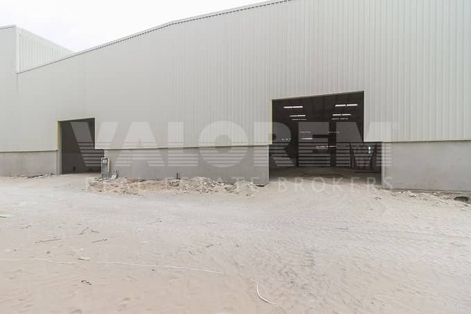 Brand New warehouse for sale in Techno park Dubai
