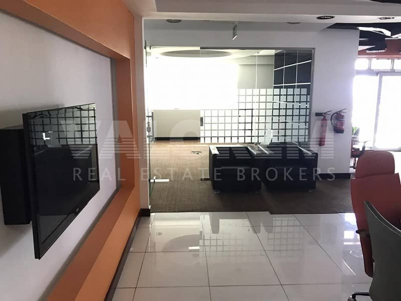 Fitted | Partitions |Semi Furnished | 4 Car Parking