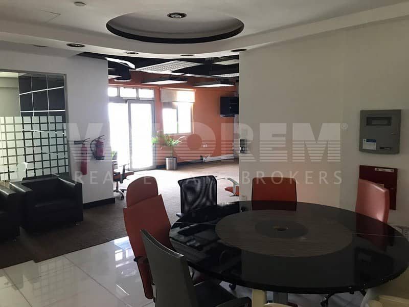 2 Fitted | Partitions |Semi Furnished | 4 Car Parking