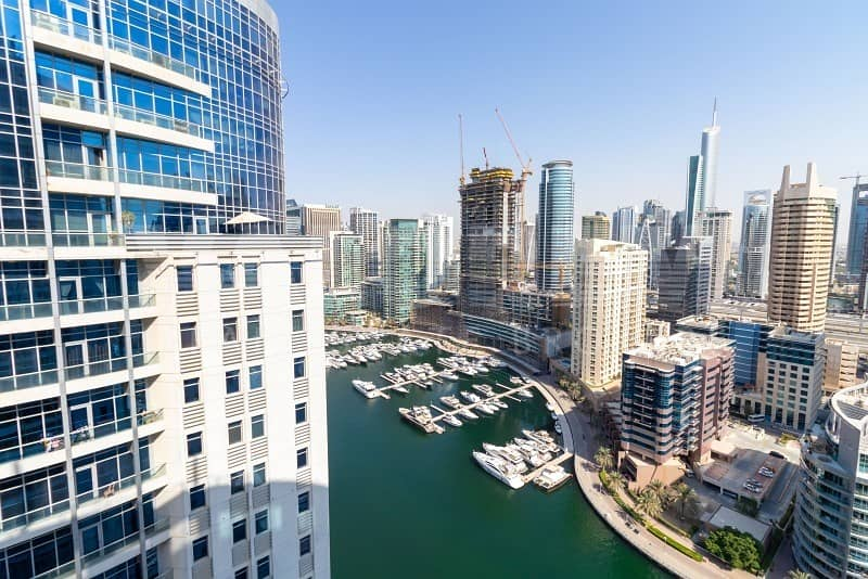 High floor | Well Maintained | Marina View | Bright