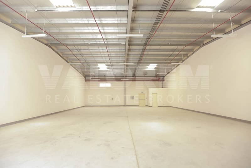 New Large Size warehouse for rent in Al-Sajah Ind. Area